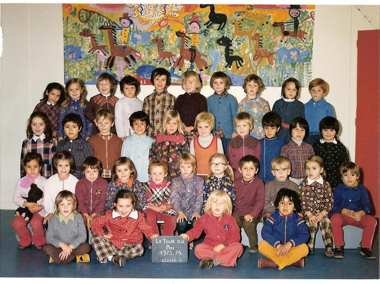 photo de classe maternelle de 1972 ecole thevenon la tour du pin copains d 39 avant. Black Bedroom Furniture Sets. Home Design Ideas