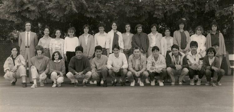 Photo de classe classe 3c de 1986 coll ge du jardin des plantes copains d 39 avant - College du jardin des plantes ...