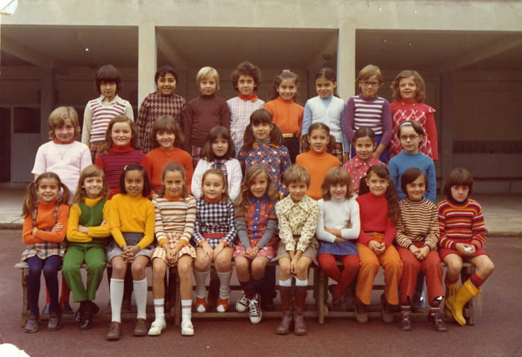 photo de classe cm1 de 1974 ecole camp major copains d 39 avant. Black Bedroom Furniture Sets. Home Design Ideas