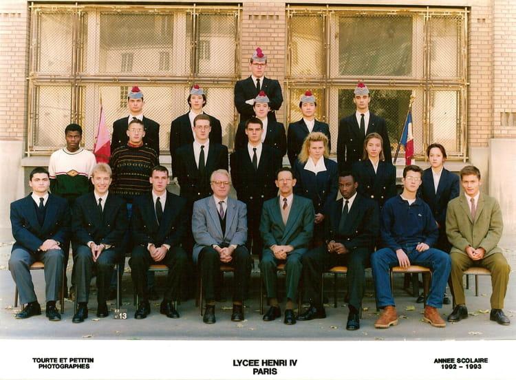 photo de classe classe pr pa st cyr de 1993 lyc e henri iv copains d 39 avant. Black Bedroom Furniture Sets. Home Design Ideas