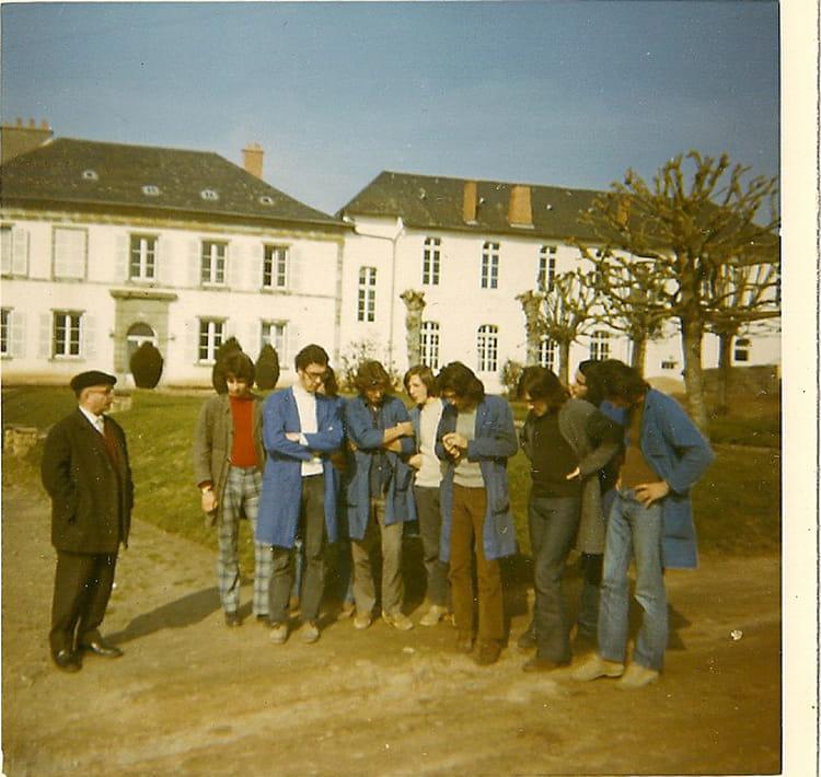 Photo de classe at2 de 1971 lyc e agricole et horticole for Legta brive voutezac