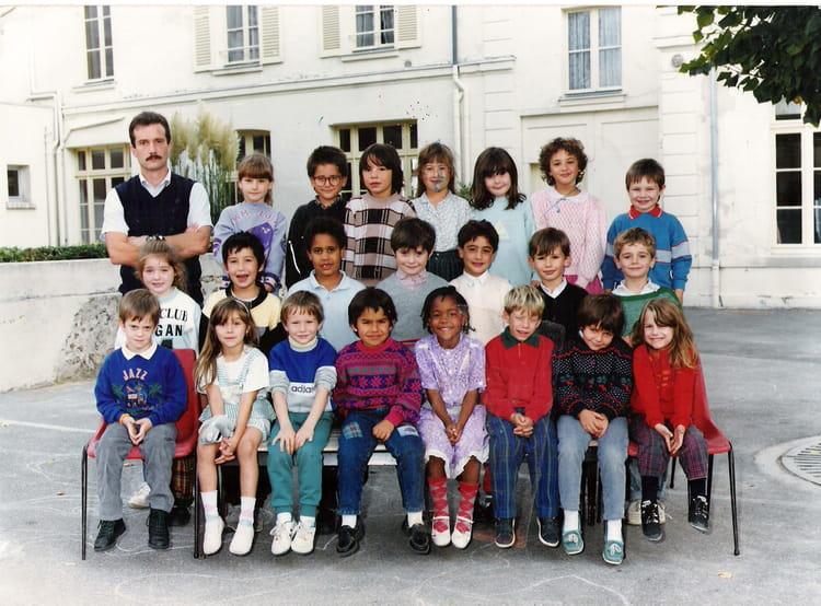 photo de classe cp de 1988 ecole nanteuil les meaux copains d 39 avant. Black Bedroom Furniture Sets. Home Design Ideas