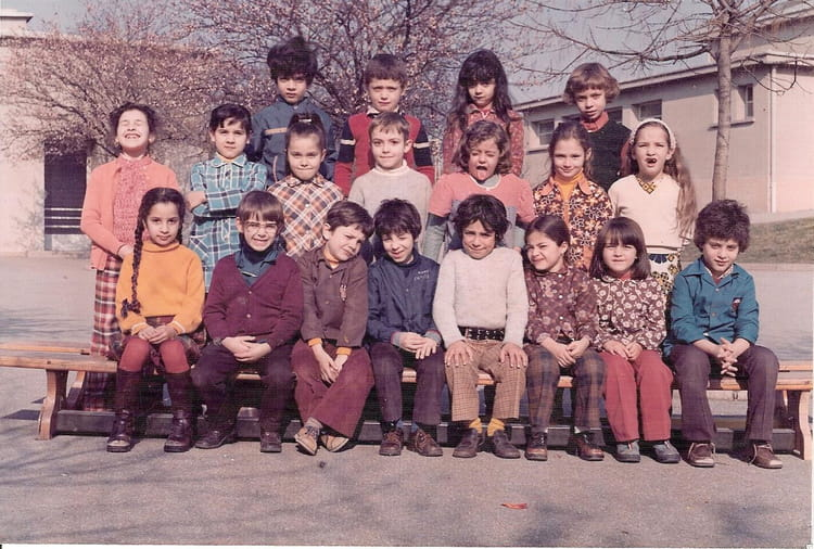 photo de classe 1974 1975 cp anatole france bron de 1975 ecole anatole france copains d 39 avant. Black Bedroom Furniture Sets. Home Design Ideas