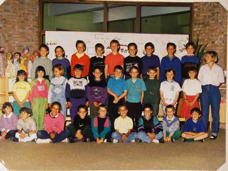 Photo de classe ce2 de 1990 ecole philippe soupault for Lycee craponne salon