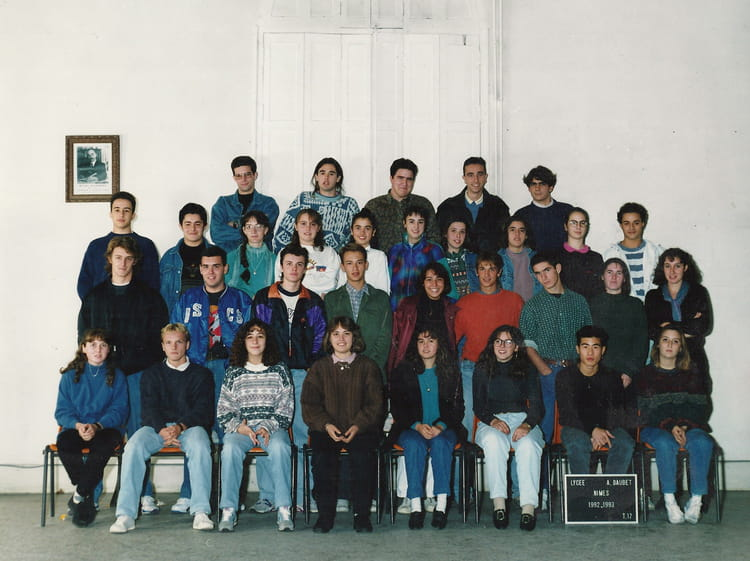Photo de classe terminale 17 de 1992 lyc e alphonse for Lycee alphonse daudet