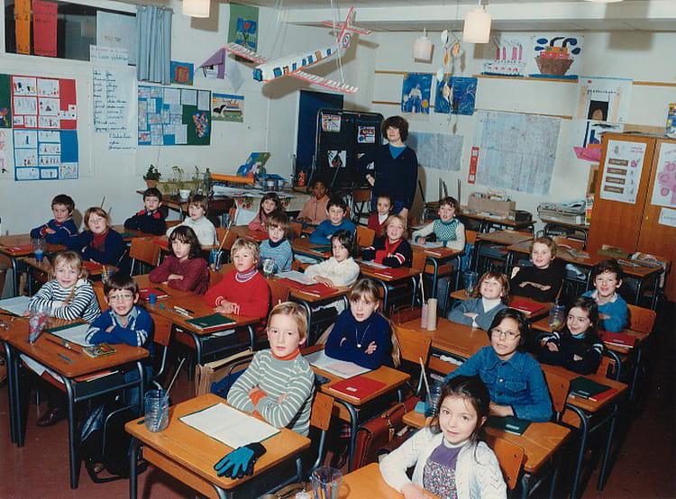 photo de classe ce1 de 1980 ecole jean jaures gonfreville l orcher copains d 39 avant. Black Bedroom Furniture Sets. Home Design Ideas