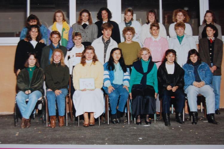 photo de classe ts1ms de 1989 lyc e edouard gand copains d 39 avant. Black Bedroom Furniture Sets. Home Design Ideas