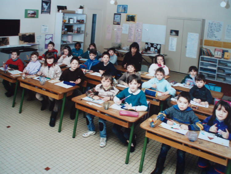 Photo de classe cp de 1989 ecole jacques prevert for Garage bailleau le pin
