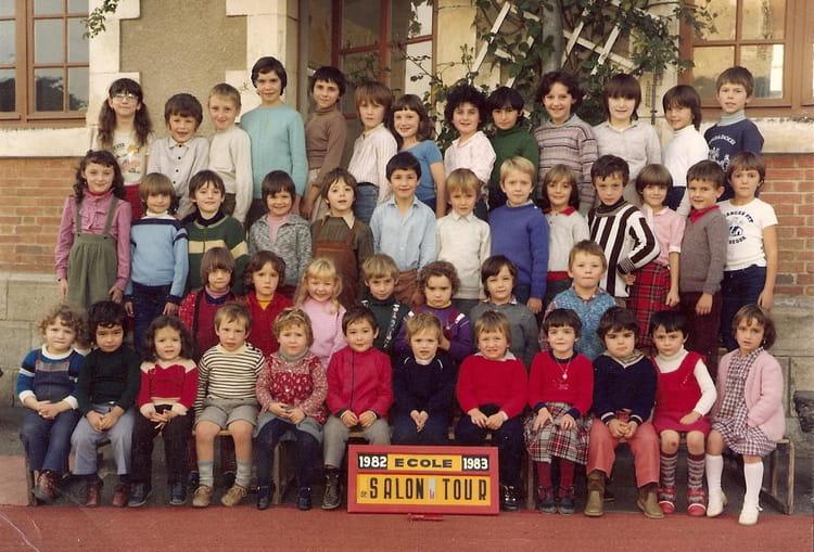 Photo de classe cole de salon de 1982 ecole primaire for Salon la tour