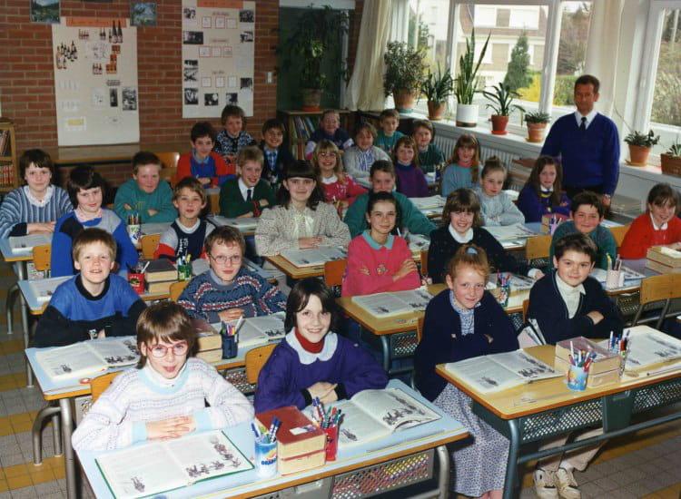 Photo de classe cm2 de 1990 ecole louis pasteur - Art cuisine longuenesse ...
