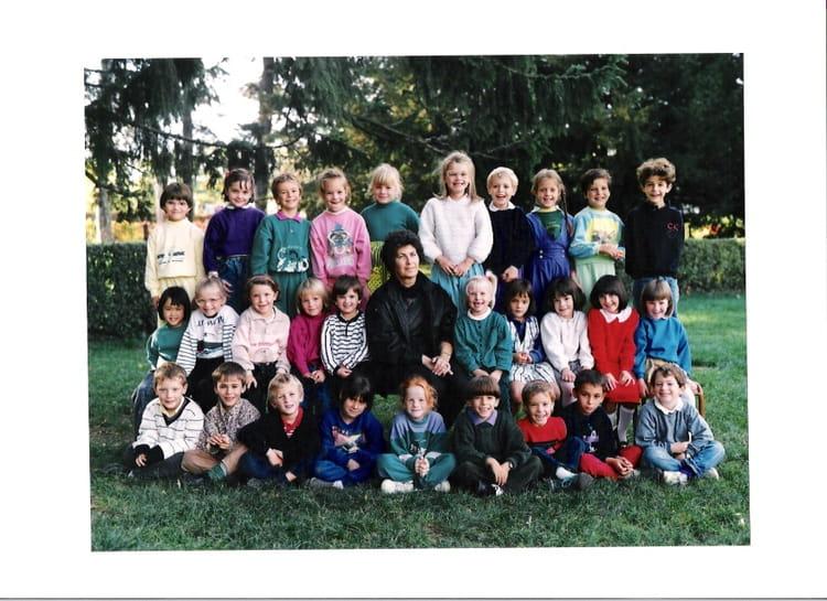 photo de classe cp lilette de 1990 ecole jules pinsard creches sur saone copains d 39 avant. Black Bedroom Furniture Sets. Home Design Ideas
