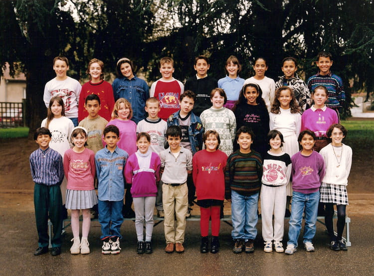 photo de classe cm2 de 1994 ecole alphonse de lamartine villefranche sur saone copains d 39 avant. Black Bedroom Furniture Sets. Home Design Ideas