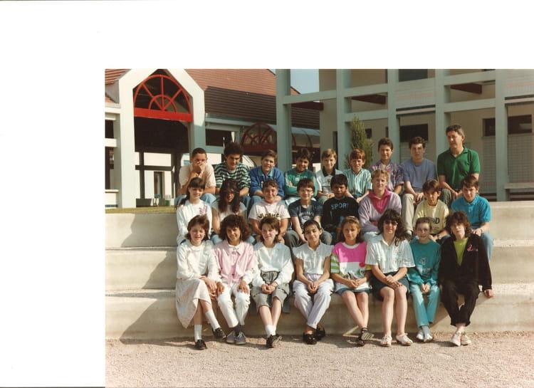 photo de classe classe de 5eme 1 de 1988 coll ge marie. Black Bedroom Furniture Sets. Home Design Ideas