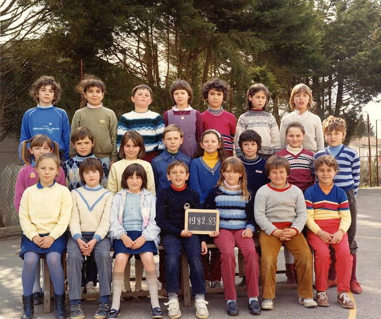 photo de classe cm1 de 1982 ecole primaire bon encontre copains d 39 avant. Black Bedroom Furniture Sets. Home Design Ideas