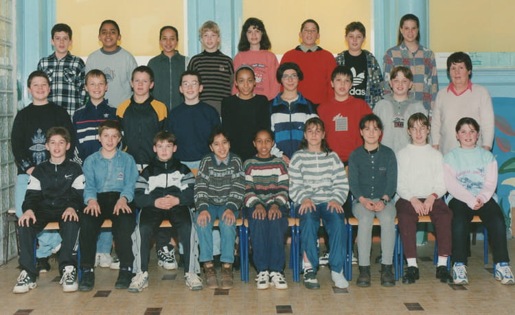 photo de classe 6eme de 1996 coll 232 ge croix de metz copains d avant