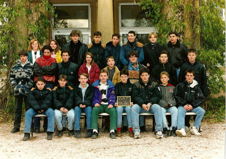 1993 - 4e technologie - collège de mazenod