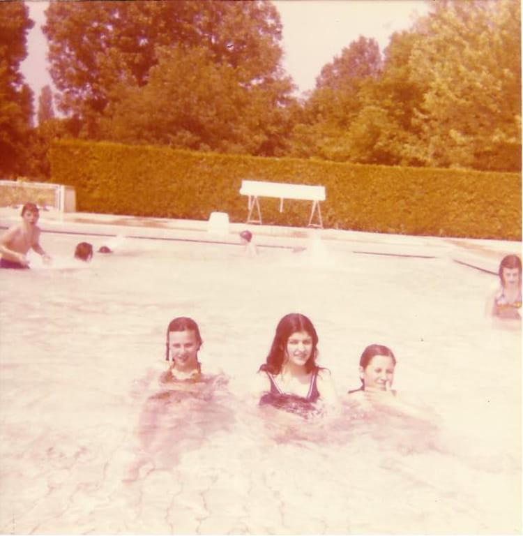 Photo De Classe Piscine De 1974 Lyc E Pierre Et Marie