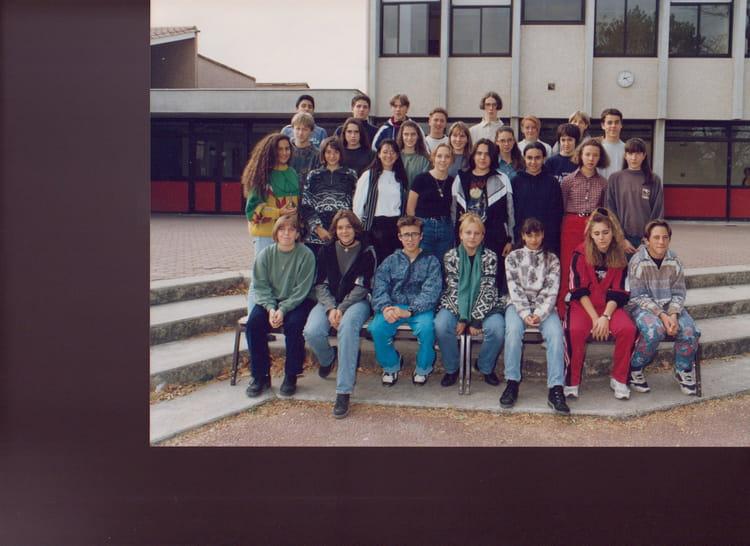 photo de classe 3 176 3 de 1995 coll 232 ge porte du m 233 doc copains d avant