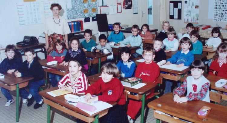 Photo de classe ce1 de 1990 ecole jacques prevert for Garage bailleau le pin