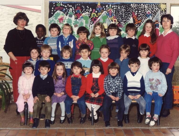 photo de classe maternelle de 1984 ecole groupe scolaire maurice leaute epc brieres les. Black Bedroom Furniture Sets. Home Design Ideas