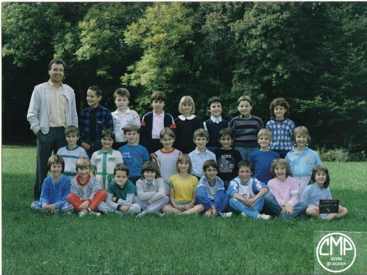 Photo de classe eurville cm1 86 87 de 1986 ecole notre for Eurville bienville