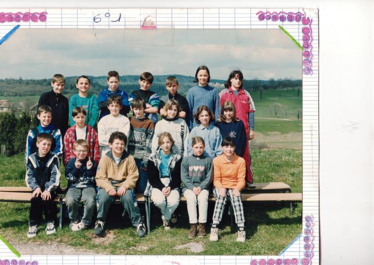 Photo de classe 6 de 1996 coll ge gilbert cousin for A thomas cousins salon