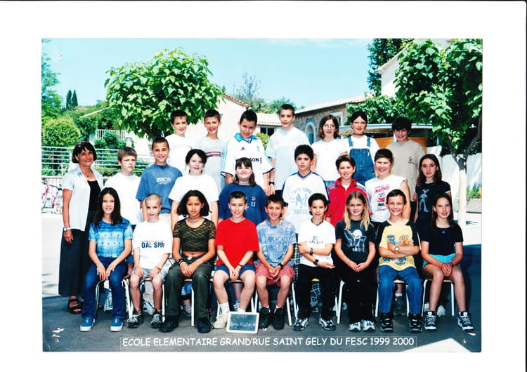 Photo de classe cm2 de 1999 ecole de la grand rue saint for Salon grande ecole