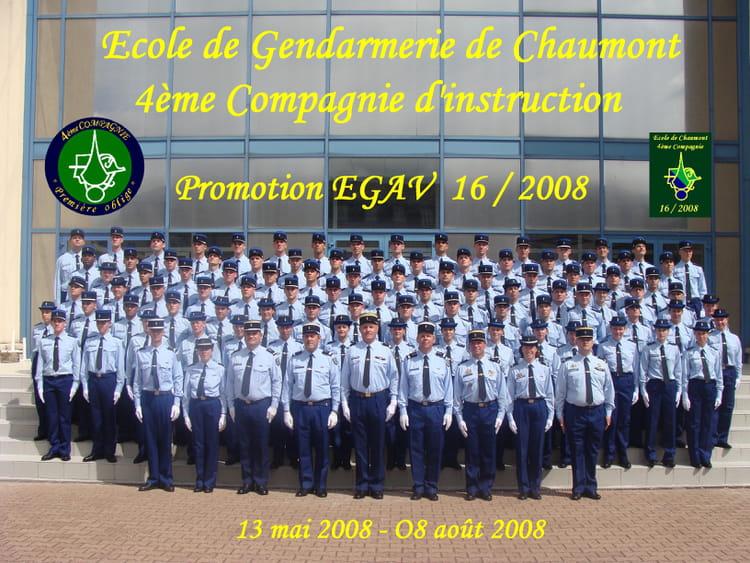 photo de classe promotion gav 16 2008 de 2008 ecole gendarmerie chaumont esog copains d 39 avant. Black Bedroom Furniture Sets. Home Design Ideas