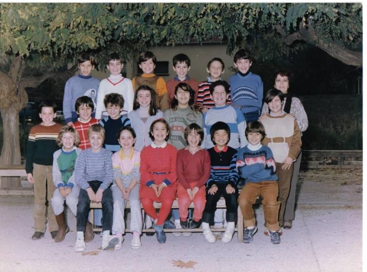 photo de classe cm1 la moutonne de 1984 ecole primaire la moutomne 83 copains d 39 avant. Black Bedroom Furniture Sets. Home Design Ideas