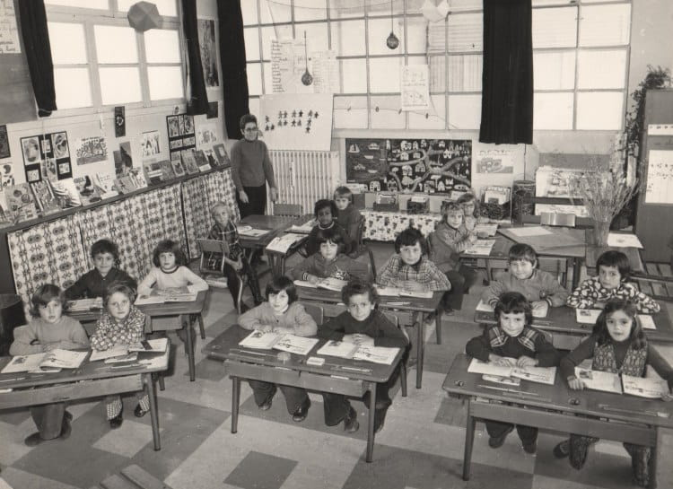 photo de classe cp de 1974 ecole pierre brossolette. Black Bedroom Furniture Sets. Home Design Ideas