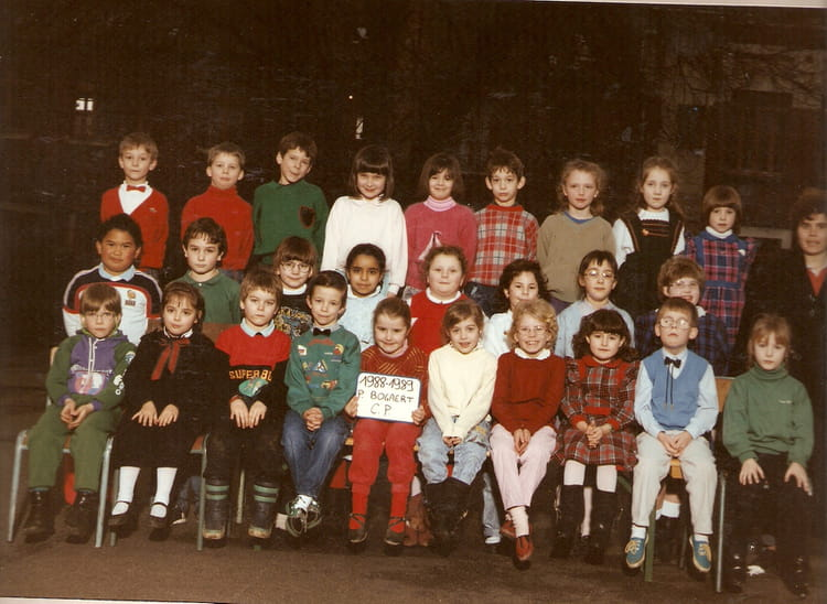photo de classe cp de 1988 ecole bogaert a saint just en chaussee copains d 39 avant. Black Bedroom Furniture Sets. Home Design Ideas
