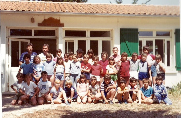 Photo de classe cm1 de 1983 ecole du centre ville la grand copains d 39 avant - Salon du chiot ville la grand ...