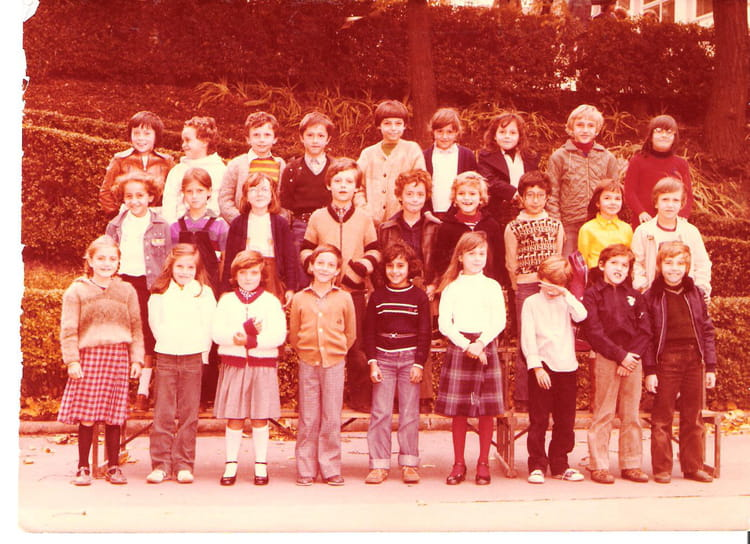 photo de classe cm1 de 1981 ecole beaulieu copains d 39 avant. Black Bedroom Furniture Sets. Home Design Ideas