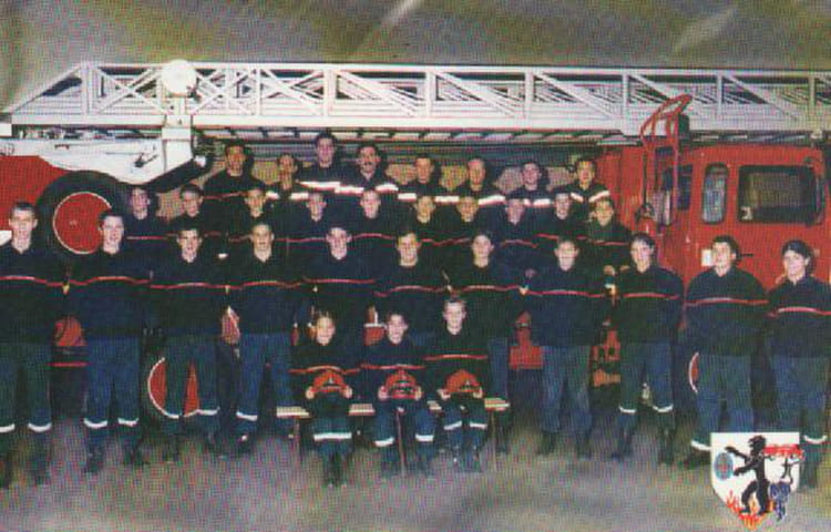 Photo de classe jsp 2001 de 2001 centre de secours salon for Centre de formation salon de provence