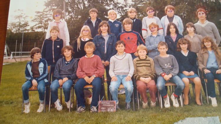 Photo de classe 5b de 1982, COLLEGE ALFRED KASTLER   Copains d u0026#39;avant