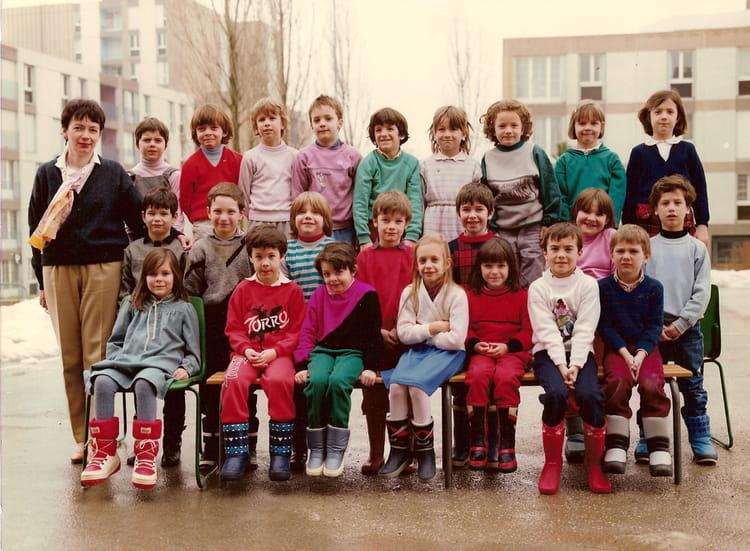 photo de classe cp de 1985 ecole jacques prevert copains d 39 avant. Black Bedroom Furniture Sets. Home Design Ideas