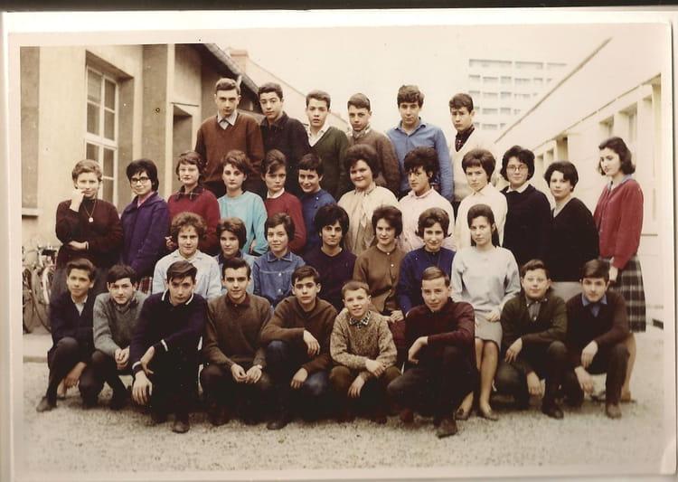 photo de classe 5 232 me de 1963 coll 232 ge les chalets copains d avant