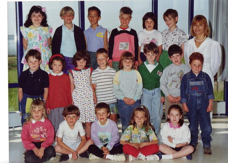 photo de classe cp de 1990 ecole le clos saint georges bussy saint georges copains d 39 avant. Black Bedroom Furniture Sets. Home Design Ideas