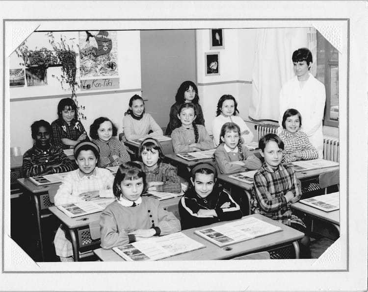 photo de classe cm2 de 1965 ecole groupe paul vaillant couturier copains d 39 avant. Black Bedroom Furniture Sets. Home Design Ideas
