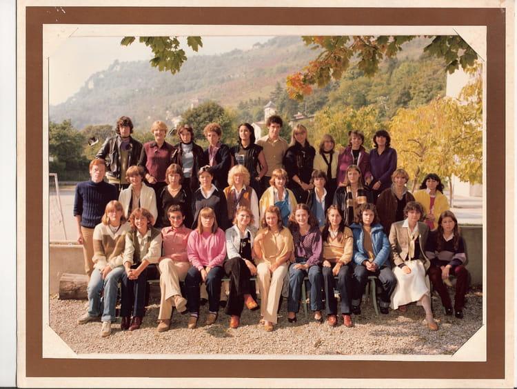 Photo de classe 1ere année G1 1980 de 1980, Itec  ~ Itec Bois Fleury