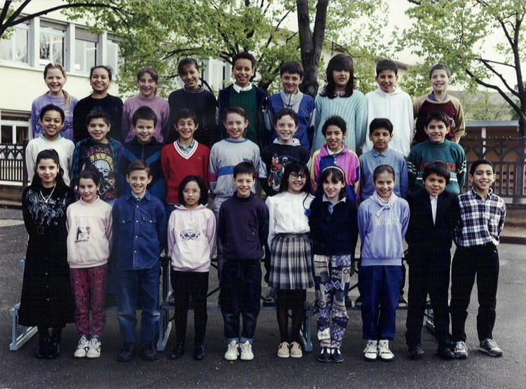 photo de classe cm2 de 1993 ecole jean bonthoux villefranche sur saone copains d 39 avant. Black Bedroom Furniture Sets. Home Design Ideas