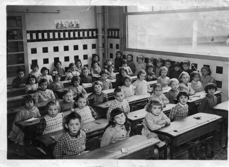 photo de classe de 1955 ecole ferdinand buisson sainte genevieve des bois copains d 39 avant. Black Bedroom Furniture Sets. Home Design Ideas