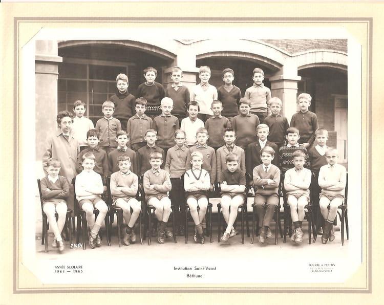 Photo De Classe Classe De 7eme Melle Crepin 1964 65 De 1965