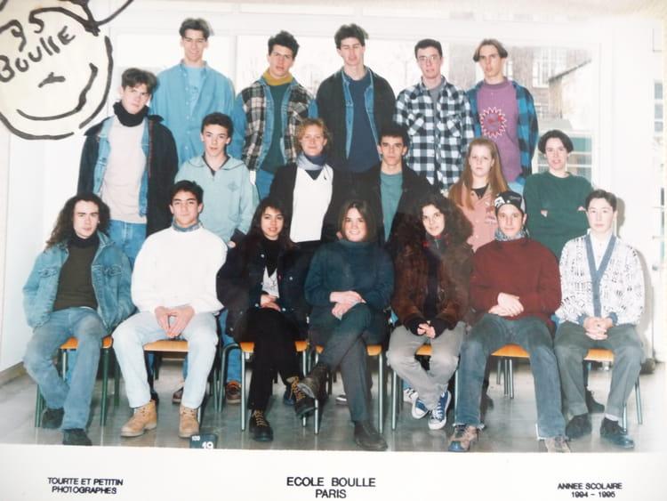 photo de classe 2 fma 1 de 1994 ecole boulle copains d 39 avant. Black Bedroom Furniture Sets. Home Design Ideas