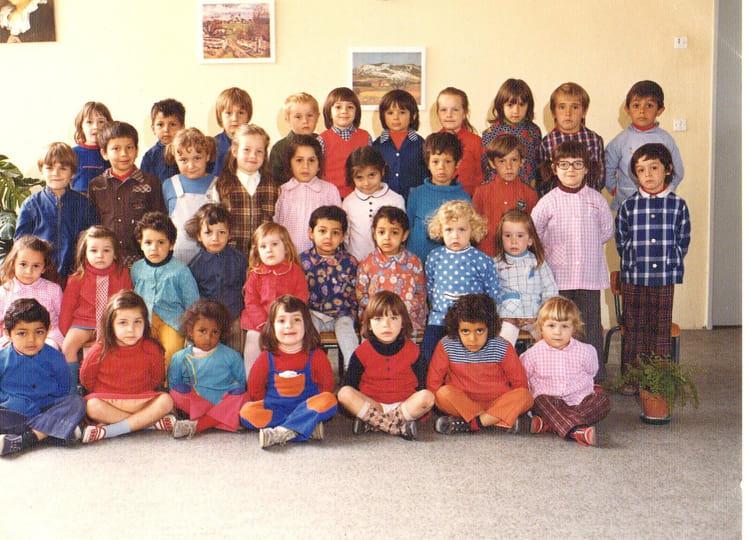 photo de classe maternelle moyenne section de 1972 ecole grangeneuve montelimar copains d 39 avant. Black Bedroom Furniture Sets. Home Design Ideas