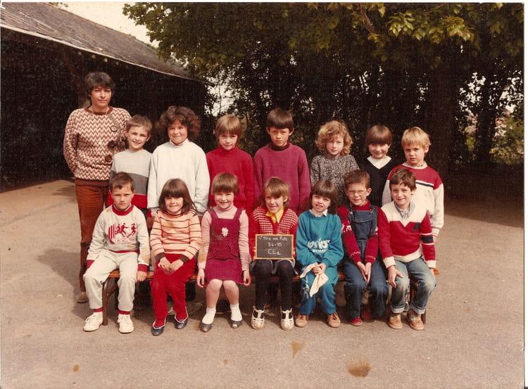photo de classe classe de ce1 de 1984 ecole jacques brel saint pere en retz copains d 39 avant. Black Bedroom Furniture Sets. Home Design Ideas