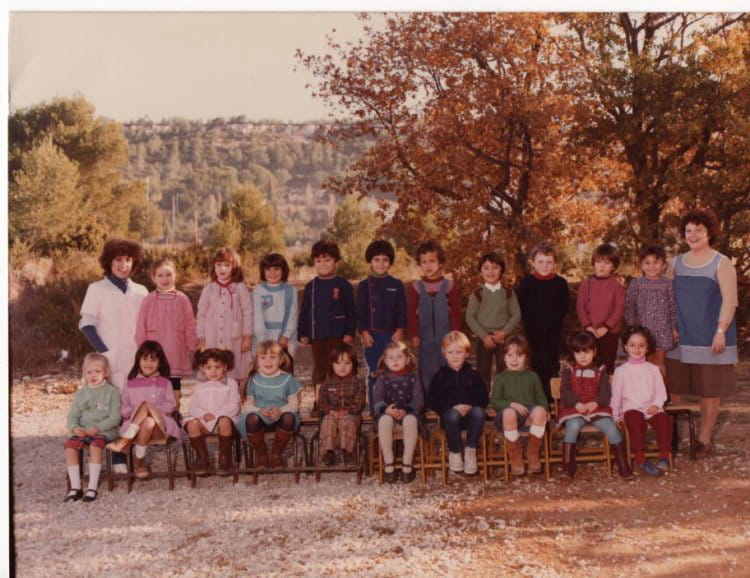 photo de classe maternelle vitrolles de 1980 ecole val de sibourg copains d 39 avant. Black Bedroom Furniture Sets. Home Design Ideas