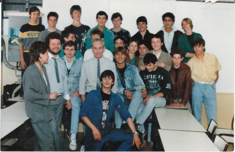 Photo de classe cfa nogent sur oise de 1987 cfa de la chambre de commerce et d 39 industrie - Chambre des metiers nogent sur oise ...