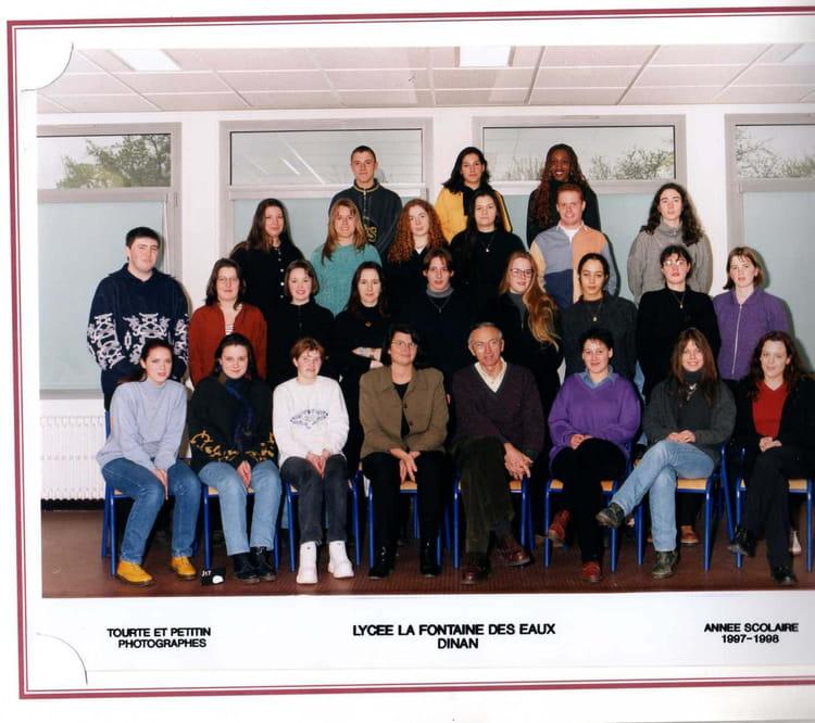 photo de classe terminale bac pro de 1997 lyc e. Black Bedroom Furniture Sets. Home Design Ideas