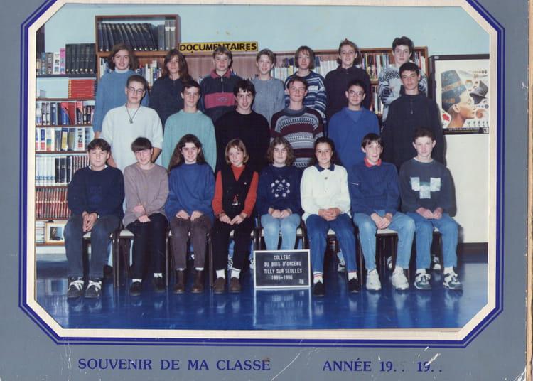 de classe 3èmeB de 1995, Collège Du Bois Dorceau  Copains davant ~ College Bois D Orceau